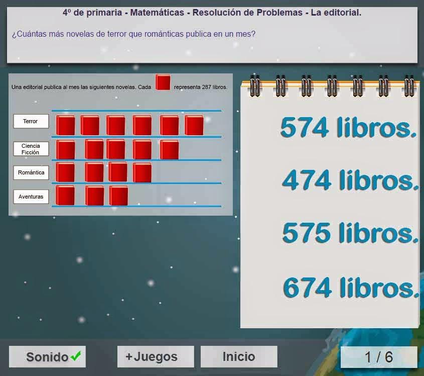 PROBLEMAS MATEMÁTICOS: Ejercicios interactivos diseñados para ...